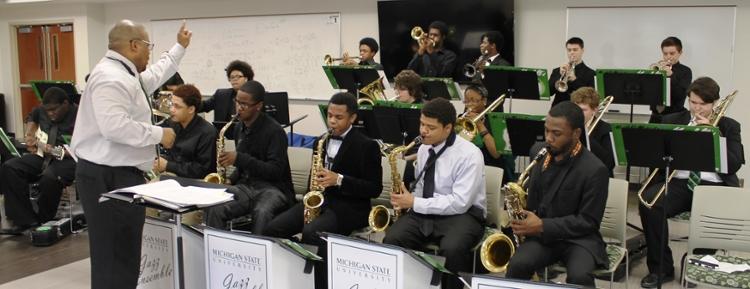 Spartan Youth Jazz | Community Music School (CMS) | Michigan State